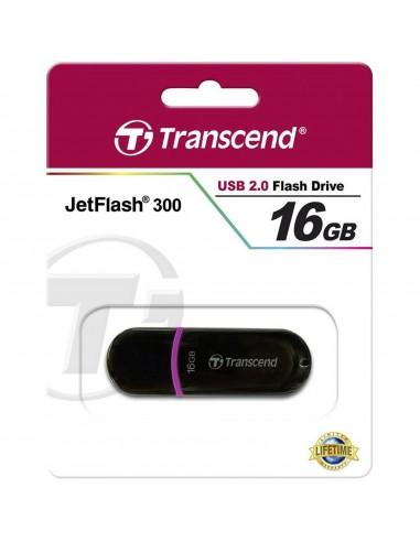Pendrive Transcend JetFlash 300 16GB USB 2.0 TS16GJF300
