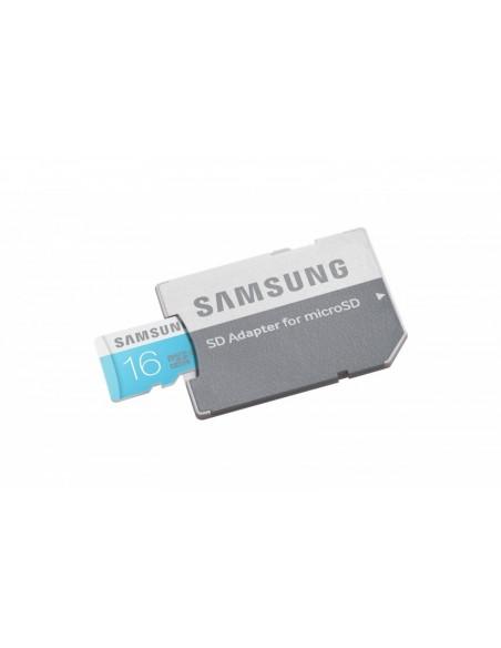 Tarjeta Samsung microSDHC 16GB CL6 + adaptador MB-MS16DA/EU
