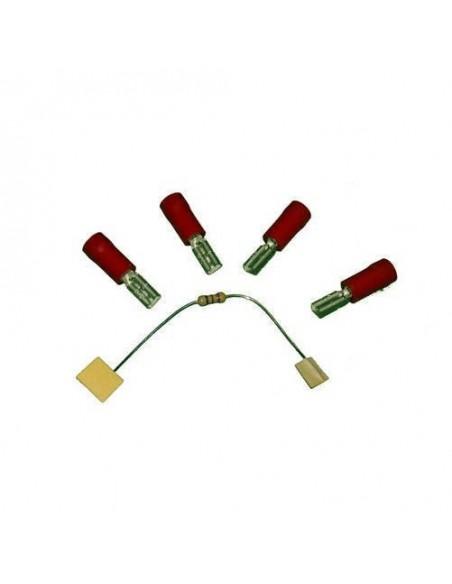 Kit de conexión para Pulsador Aqua. Incluye resistencias