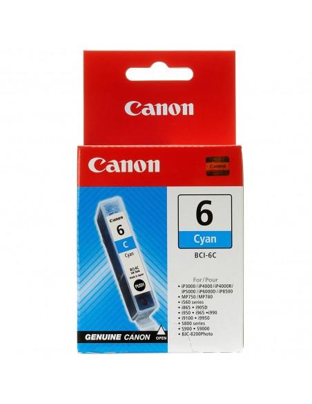 Canon original BCI-6C Cartucho de tinta cian