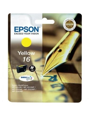 Cartucho de tinta original Epson 16 amarillo C13T16244010