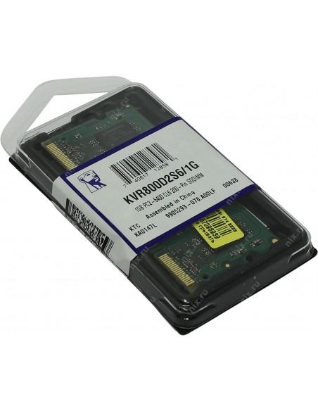 Kingston KVR800D2S6/1G CL6 200 SODIMM 1GB