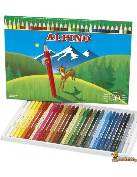 Lápices de colores Alpino