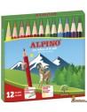 Alpino Lápices Cortos 12 ud