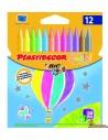 Ceras Plastidecor para niños en colores pastel y metálicos