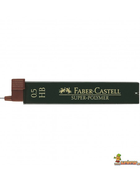 Minas Faber Castell 0.5mm 12ud